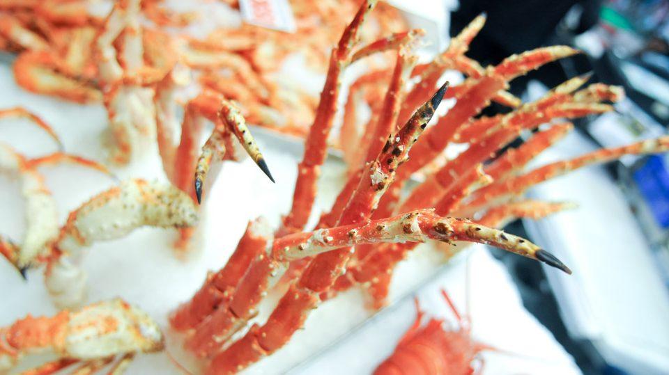 patas de cangrejo
